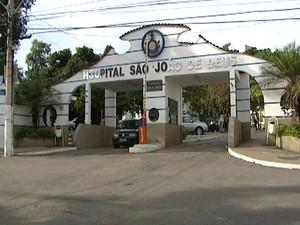 Greve foi decretada em HSJD em Divinópolis (Foto: Reprodução/TV Integração)