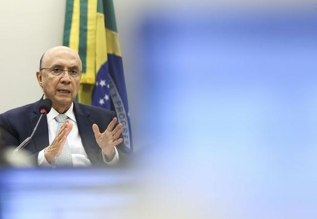 Henrique Meirelles participa de audiência sobre Novo Regime Fiscal (Foto: Marcelo Camargo/Agência Brasil)