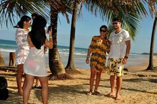 MULTI - André Martinelli posa para o EGO na Costa do Sauípe (Foto: Roberto Teixeira / EGO)