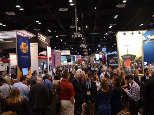 Exposição do Congresso NADA 2013, em Orlando (Foto: Igor Francisco/MCE Comunicação)