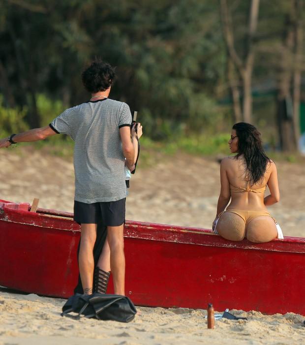 Kim Kardashian na Tailândoa (Foto: AKM-GSI BRASil)