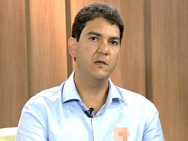 Eduardo Braide, candidato a prefeito de São Luís (Foto: Reprodução/TV Mirante)