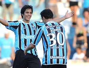 grêmio bertoglio kleber (Foto: Edu Andrade/Grêmio FBPA)