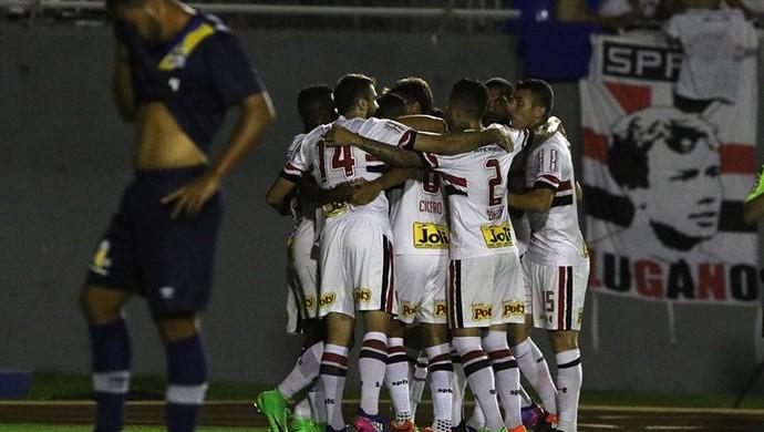 Pstc x São Paulo (Foto: Rubens Chiri/saopaulofc.net)