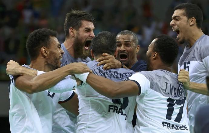 França Alemanha handebol Olimpíada (Foto: Alkis Konstantinidis / Reuters)