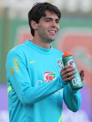 Kaká durante treino da seleção (Foto: Mowa Press)
