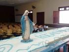 Dia da Imaculada Conceição tem bolo de 400 quilos e missa em Piracicaba