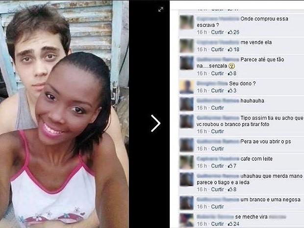 Injúria Racial Facebook Muriaé (Foto: Reprodução/Facebook)