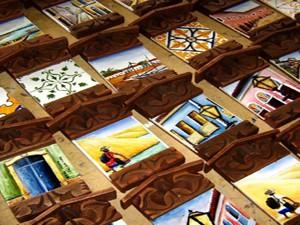 Réplicas de azulejos portugueses são os mais procurados pelos turistas (Foto: Divlugação/Catálogo Sebrae)