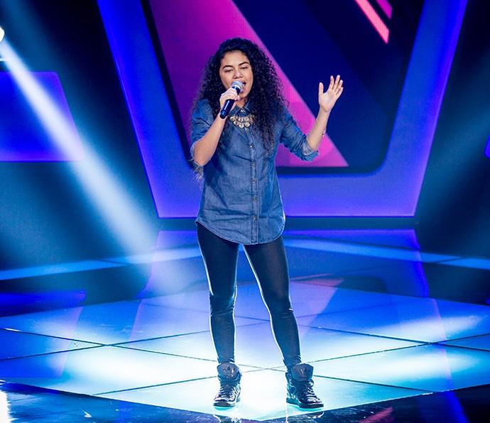 A carioca Nathy Veras brilhou cantando Amy Winehouse (Foto: Isabella Pinheiro/Gshow)