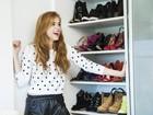 Sophia Abrahão abre o guarda-roupa, monta looks, posa e reflete sobre carreira, fama, família e relacionamentos