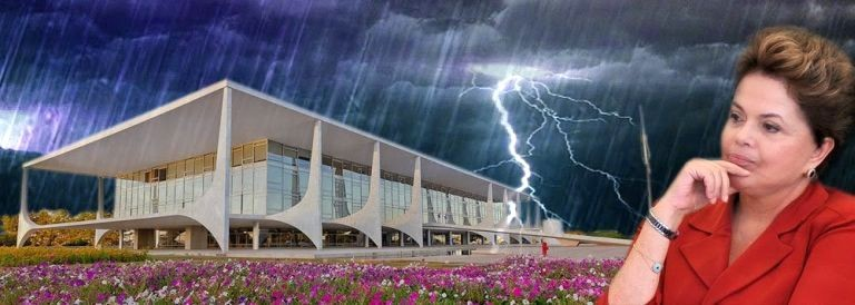 A tempestade de Dilma (Foto: Arquivo Google)