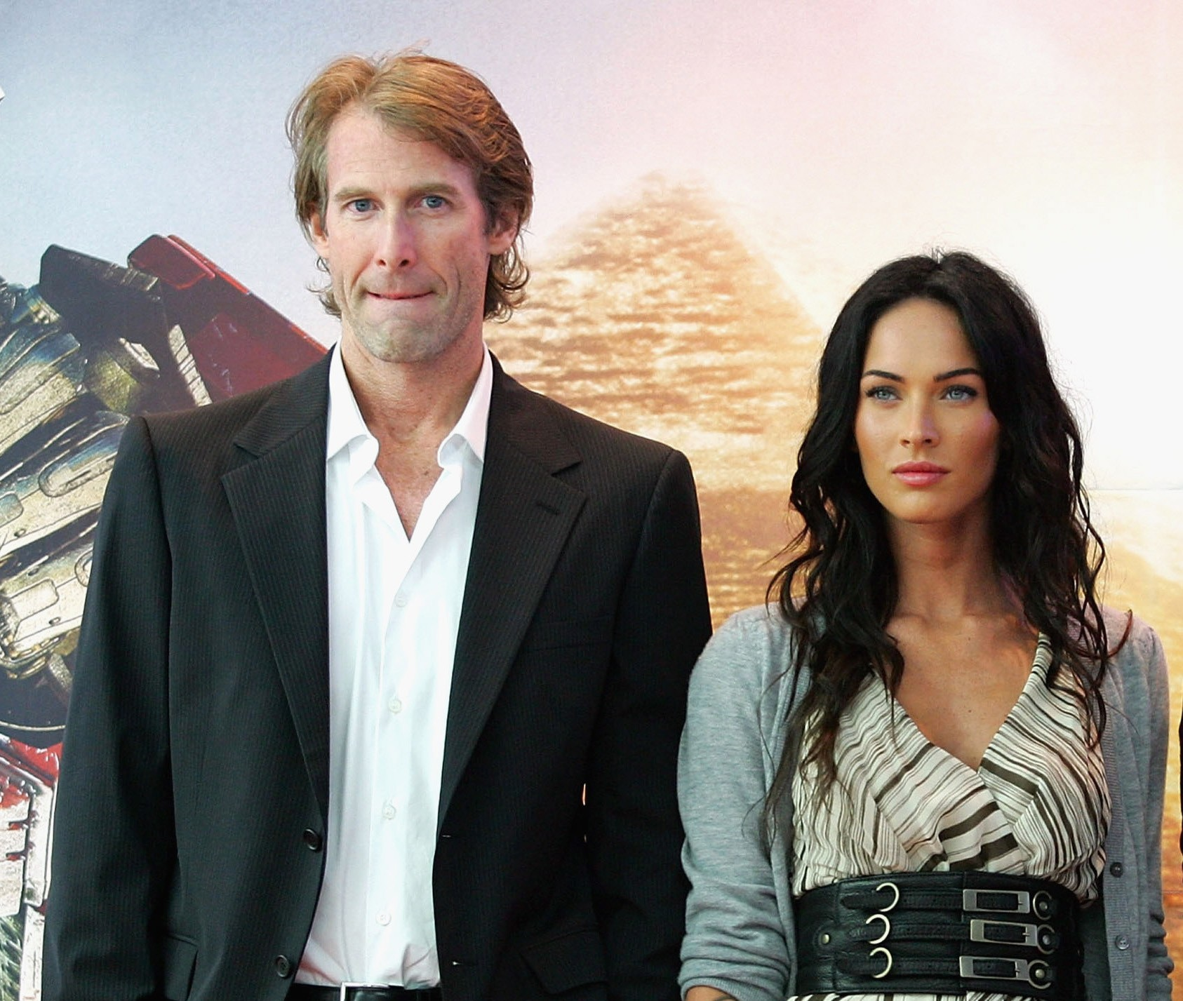 Michael Bay e Megan Fox (Foto: Getty Images)