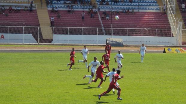 Noroeste x Capivariano (Foto: Thiago Navarro/EC Noroeste)