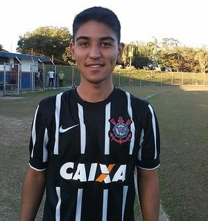 Fabrício Oya Corinthians sub-20 (Foto: Gabriel Dantas/GloboEsporte.com)