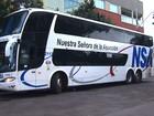 Ladrões assaltam dois ônibus de turismo em rodovia no norte do PR