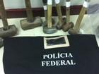 PF realiza operação em Alagoas para combater extração ilegal de minérios