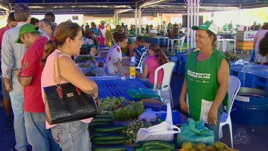 Tem início campanha de produtos orgânicos em Manaus