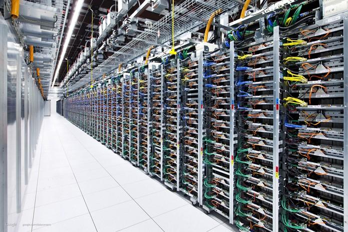 Para dar conta da demanda, Google precisou desenvolver seus próprios switchers (Foto: Divulgação/Google)