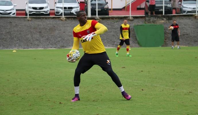 Vitória; treino; Toca do Leão; Barradão; Caique (Foto: Francisco Galvão/EC Vitória/Divulgação)
