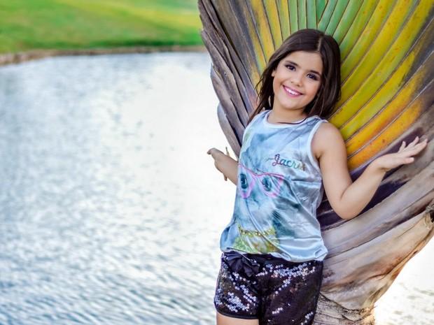 Letícia Gabrielle vai representar o Brasil no Mini Miss Universo (Foto: Edson Gomes/Arquivo Pessoal)