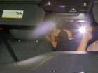 Motorista de Jennifer Aniston bate o carro na Califórnia