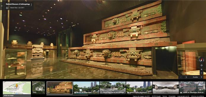 Museu de Antropologia e História no México (Foto: Reprodução/Barbara Mannara)