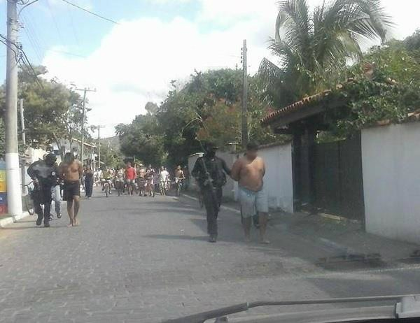 Presos (Foto: Divulgação)