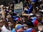 Oposição venezuelana começa protestos e Maduro responde
