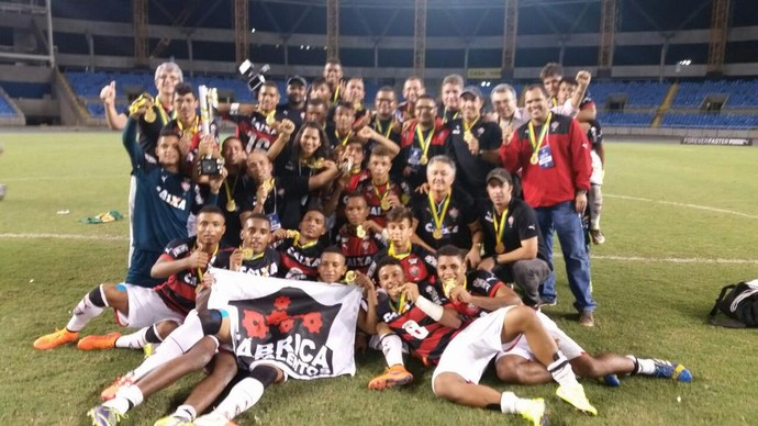 Vitória, campeão da Copa do Brasil sub-17 (Foto: Divulgação / Esporte Clube Vitória)