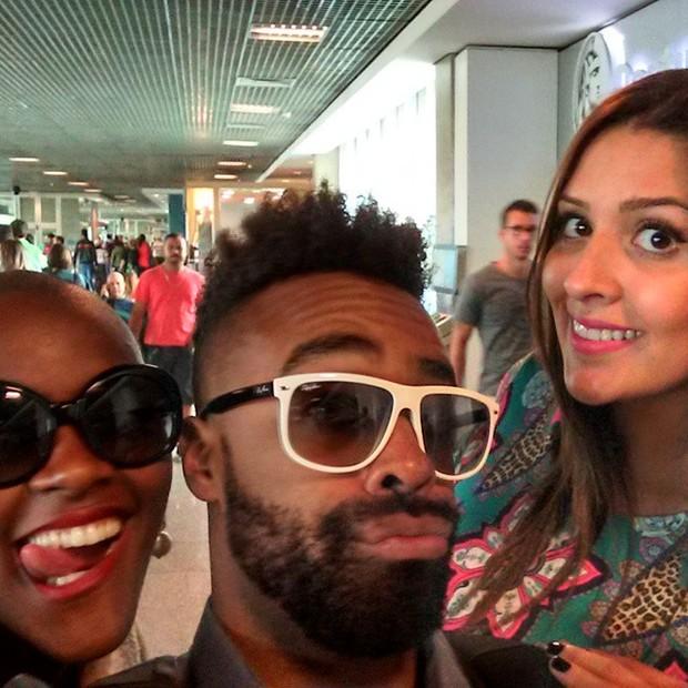 Angelica, Douglas e Tamires (Foto: Reprodução/Instagram)