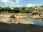 Baixo nível do Rio Itapemirim preocupa cidades do Sul do ES