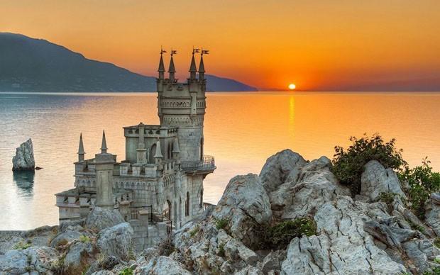 Castelo Swallow Nest (Foto: Reprodução/Pinterest)
