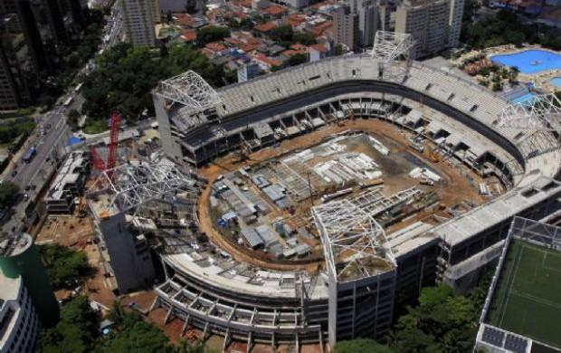 Arena Palestra Itália (Foto: Divulgação/WTorre)