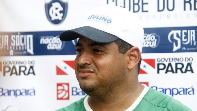 Leston Júnior, técnico no Remo (Foto: Everaldo Nascimento/O Liberal)