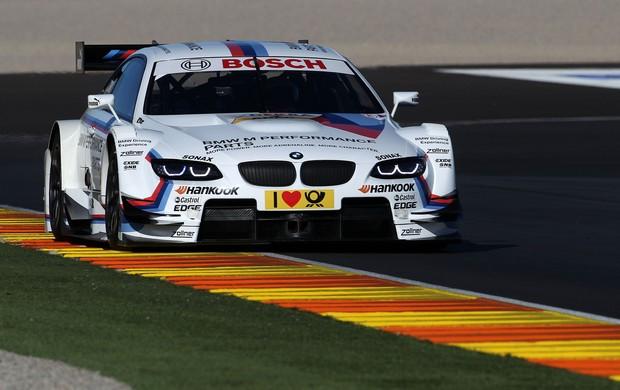 Timo Glock, ex-Fórmula 1, testa carro da BMW no DTM em Valência, na Espanha (Foto: Divulgação)