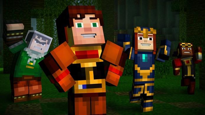Minecraft: Story Mode Episode 7 (Foto: Divulgação/Telltale)