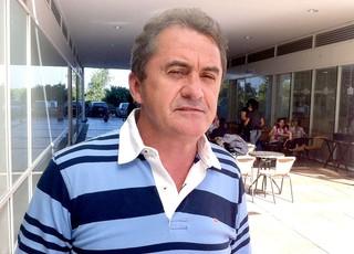 Franciso Novelleto, presidente da federaçãoo gaúcha na CBF (Foto: Vicente Seda / Globoesporte.com)