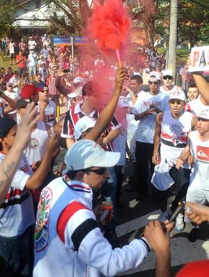 torcida são paulo x flamengo (Foto: Marcos Ribolli/GLOBOESPORTE.COM)