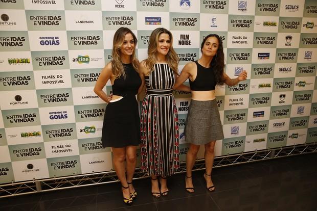 Rosanne Mulholland, Ingrid Guimarães e Alice Braga (Foto: Delson Silva / AgNews)