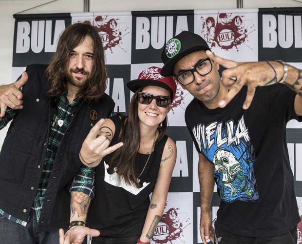 Banda Bula (Foto: Inácio Moraes)