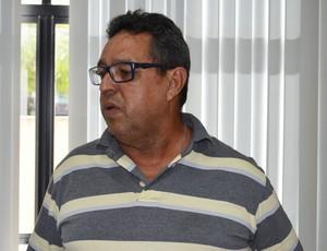 bosco crispim, presidente da federação paraibana de futsal,  (Foto: Lucas Barros / Globoesporte.com/pb)