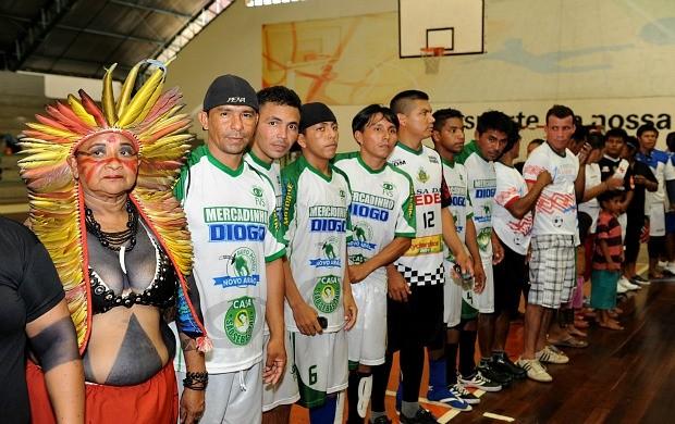 Copa Indígena de Futsal, Amazonas (Foto: Roberto Carlos/Agecom)