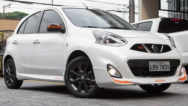 Nissan March Rio 2016 (Foto: Autoesporte)
