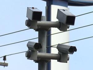 Com certificação, radares de São Carlos passam a gerar multas (Foto: Felipe Lazzarotto/EPTV)