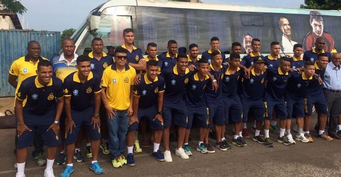 Interporto embarca para Osasco para disputa da Copa São Paulo (Foto: Salmon Pugas/ Divulgação )