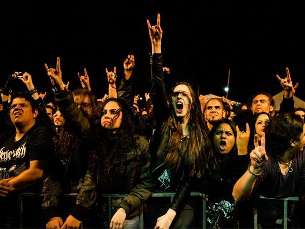Público de todas as idades acompanha Roça N Roll em Varginha, MG (Foto: Thiago Bode / Divulgação)