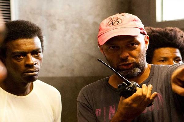 O diretor José Padilha nas filmagens de 'Tropa de Elite 2' (Foto: Divulgação)