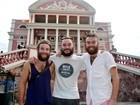 Ingleses chegam a pé para Copa no Brasil e visitam Manaus: 'magnífica'