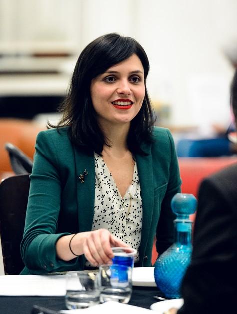 Monica Iozzi (Foto: Ramon Vasconcellos/ TV Globo)